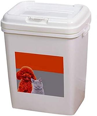 Jlxl Alimentos para Mascotas Caja De Almacenaje Comida De Perro Envase Cangilón Alimentador Almacenamiento Comida para Gatos Envase Moho Anti-oxidación Grande Capacidad: Amazon.es: Productos para mascotas