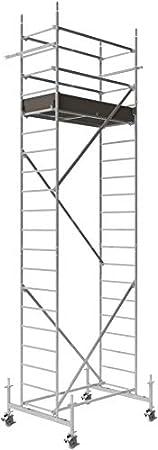 1 St/ück Rollfix 2.0 ALTEC 150 mm Rolle mit Doppelbremshebel und Stahlspindel