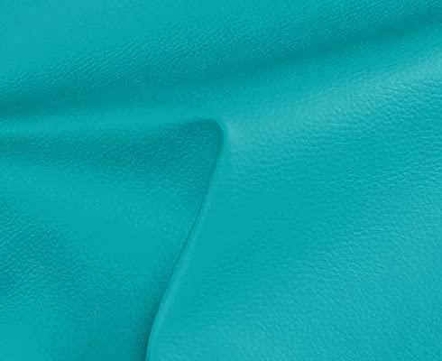 1 Metro de Polipiel para tapizar, Manualidades, Cojines o forrar Objetos. Venta de Polipiel por Metros. Diseño Solar Color Turquesa Ancho 140cm