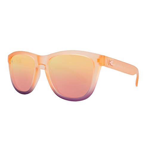 Knockaround Premiums Unisex Sunglasses With UV400 Protection, Pink Frames/Pink ()