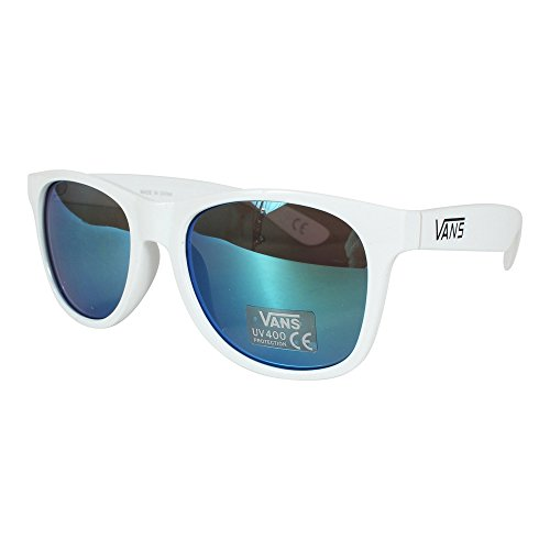 af999615f7 80% OFF Vans_Apparel SPICOLI 4 SHADES Gafas de sol, Blanco (White-Green