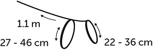 Flamingo Asp Harnais + Laisse pour Chat Gris 110 cm