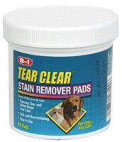 Eight in One Excel Tear Clear Eye Stain Remover Pads -- 90 Pads