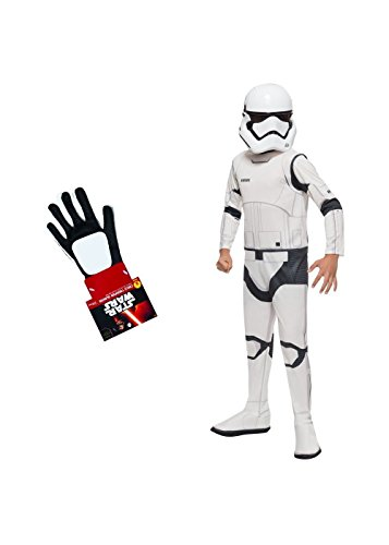Wonder Clothing Big Boys' Star Wars The Force Awakens Stormtrooper Costume and Gloves Set for $<!--$39.62-->