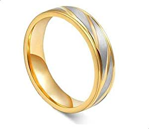 Unisex ring from Bllona Gold plated Size 9