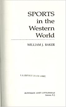 Book Sports in the Western World