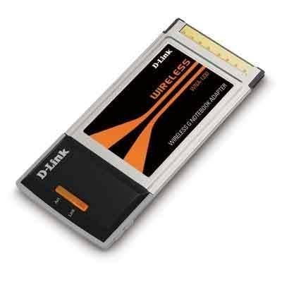 D-link Laptop Network Adapter - D-Link WNA-1330 54Mbps 802.11g Wireless G Notebook Adapter