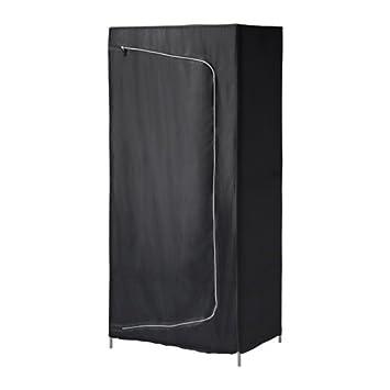 Breim Negro; Ikea De X Cm Tela;80 55 En Colour Armario 180 MSVUzp