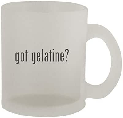 got gelatine? - 10oz Frosted Coffee Mug Cup, Frosted