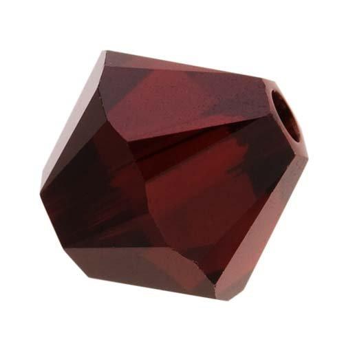Swarovski Crystal, #5328 Bicone Beads 8mm, 8 Pieces, (Garnet Swarovski Bicone)