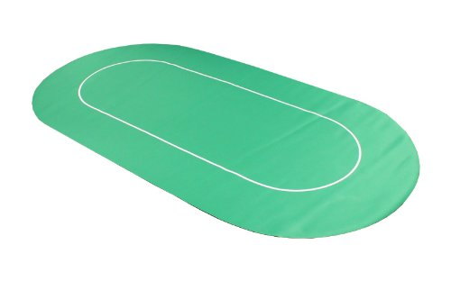 Roll Out Non Slip Casino Poker Table Top - Green by Versa Games