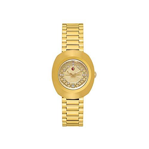 Rado Original Gold-Tone Dial Automatic Ladies Watch R12416443 (Woman Rado Watch)