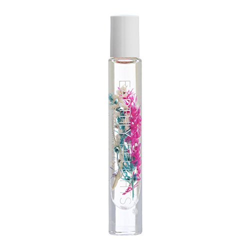 Blossom Earthly Delight Roll On Perfume with Real Flowers 0.2oz-Choose Any Scent (EDPO2 - Coconut Nectar)