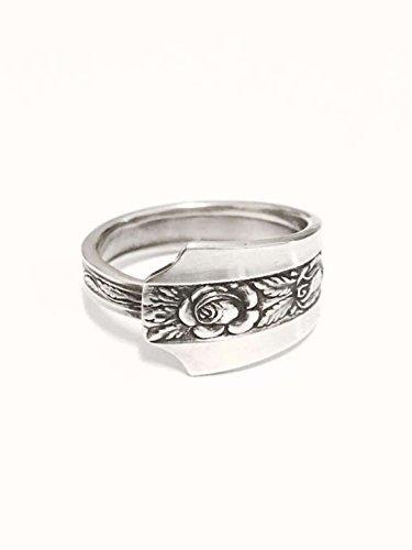 Vintage Silver Spoon Ring