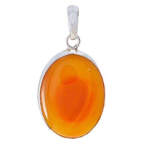 RGPL Natural Gem Red Onyx Silber pendant, great jewelry Silber pendant fine pendants