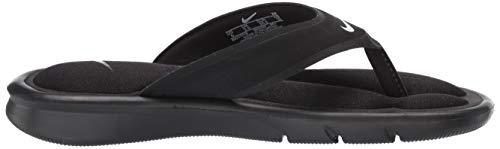white Black Comfort Black Thong Sandal Nike Ultra Women's q77YX