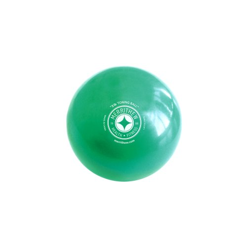STOTT PILATES Toning Ball (Green), 3 lbs / 1.4 kg