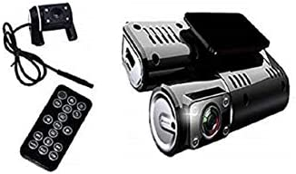 Yデパートセンター55® Wカメラ搭載 ドライブレコーダー 黒ドラ 駐車ドラレコ バックカメラ