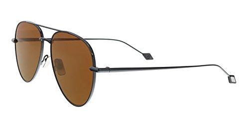 Sunglasses Brioni BR 0025 S- 004 RUTHENIUM / - Sunglasses Brioni