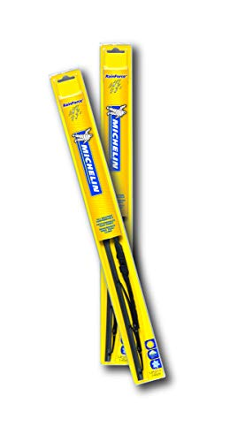 "Michelin 371426P RainForce All Weather Performance Windshield Wiper Blade Set, 14""/26"""