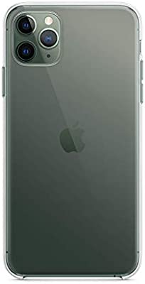 Apple MX0H2ZM/A iPhone 11 Pro Max Clear Case , (Pack of1