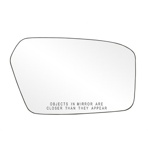 (Fit System 80207 Ford/Mercury Right Side Power Replacement Mirror Glass with Backing Plate)