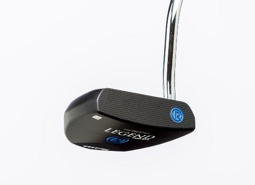 Rife Legend Black Anodized Heel Shaft Mallet Golf Putter, 33-Inch, Right (Affinity Putter)