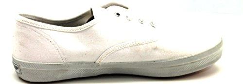 KangaROOS - Bailarinas de tela para mujer Blanco blanco 37