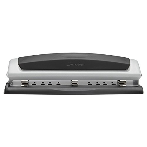 Swingline Desktop Hole Punch with Adjustable Centers