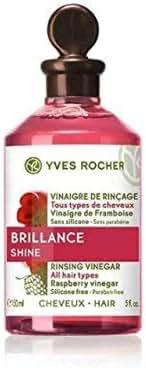 Yves Rocher Rinsing Vinegar Enhances hair's natural shine! 150 Ml.