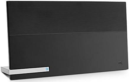 One For All SV9480, Antena de TV para Interior Amplificada, Recibe TDT en un Rango de 25km, Antena HDTV Digital, Incluye Cable Coaxial de Alto Rendimiento, VHF/UHF, Negra: Amazon.es: Electrónica