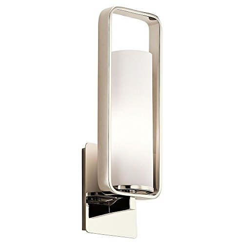 Kichler 43787PN One Light Wall Sconce by Kichler