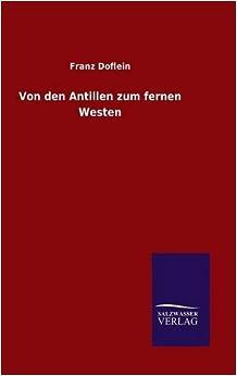 Book Von den Antillen zum fernen Westen