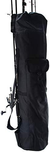 Beaurtty 釣り竿収納バッグ多機能大容量スタンドバッグ