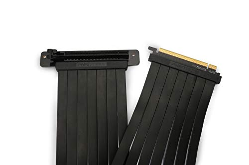 Phanteks PH-CBRS_PR60 – 600mm Premium Shielded High-Speed Technology PCI-E 3.0 x16 Riser Cable, 90o Adapter