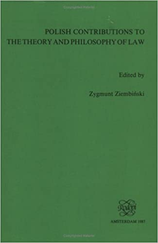 Polish Contributions to the Theory and Philosophy of Law
