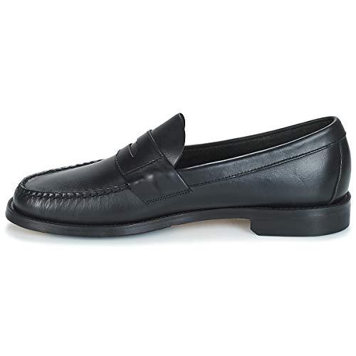 Penny Mocasín Hombres Zapatos Winter Negro Heritage 42 Fgl Bajos Sebago TZ5R4g1qw4