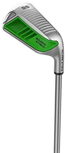(Square Strike Wedge (Left Hand, 55°) -Pitching & Chipping Wedge for Men & Women -Legal for Tournament Play -Engineered by Hot List Winning Designer -Cut Strokes from Your Golf Game Fast)