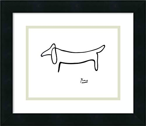 Framed Wall Art Print   Home Wall Decor Art Prints   Le Chien (The Dog) by Pablo Picasso   Modern Decor