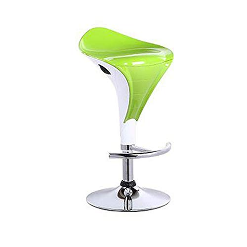 C5 Chassis - Quisilife Bar Chair, Modern Simple Lifting Lift High Stool 360 Degree Rotating Bar Chair with Comfortable Cushion for Kitchen Multi-Color Optional (Color : C5, Size : Chassis 41cm)