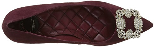 Primafila Women's 53.5.008 Closed Toe Heels Red (Merlot) tQFa5vy