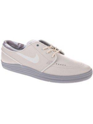 Nike Lunar Stefan Janoski Skate Shoe - Men's Sumit White/Wolf Grey/White, 10.0