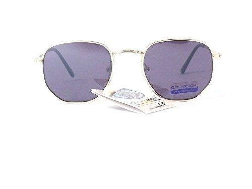 015317 lunettes de Verres 2019 Or Monture femme homme 2018 Gris mode soleil cityvision wHdxr8wq