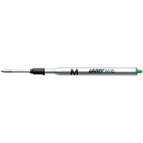(Single Lamy M16 Ballpen Refill Green Medium)