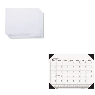 KITHOD124HOD402 - Value Kit - House Of Doolittle Doodle Desk Pad Refill (HOD402) and House Of Doolittle One-Color Refillable Monthly Desk Pad Calendar (HOD124)