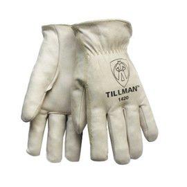 Work Gloves Top Grain Cowhide - 5