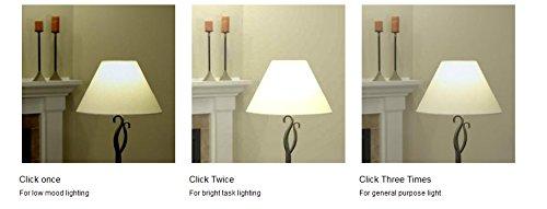 GE Lighting LED 3-Way Light Bulb, 30/70/100W Replacement, A21, 1-Pack, Daylight, Medium Base 3-Way LED Bulb