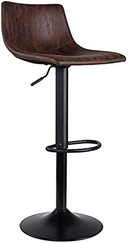 related image of SUPERJARE Single Bar Stool, Swivel Barstool Chair
