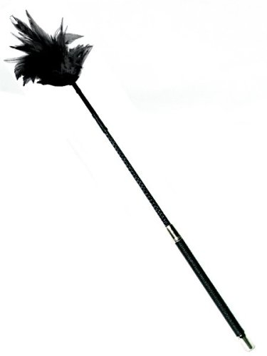 Heart 2 Heart Crop Feather Tickler, Black, 26'' by Heart to Heart