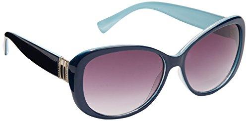 New York & Co. Women's Metallic-Trim Sunglasses 0 Medium - York And Company Sunglasses New